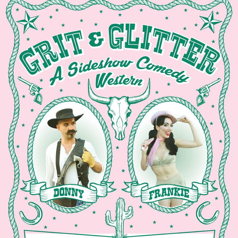 Scaled gritnglitterposter