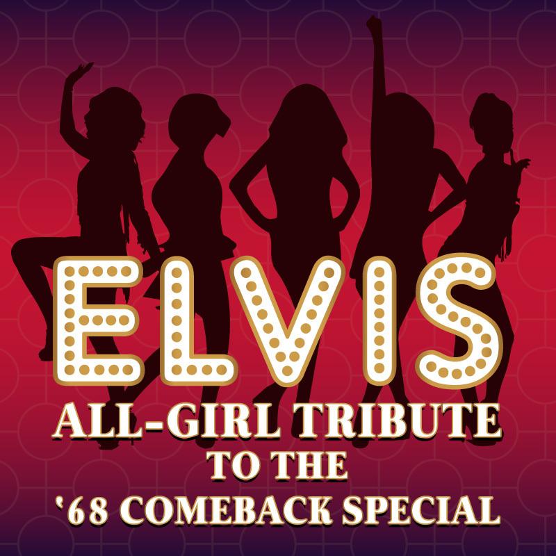 Scaled elvis all girl tribute