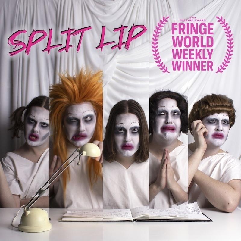 Scaled split lip squarelogoaward