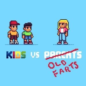 Thumb kids vs old farts