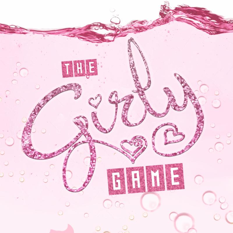 Scaled the girly game no fringe logo