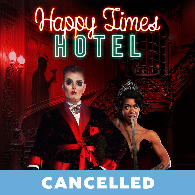 Scaled happy times hotel