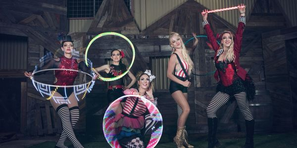 Rectangle glow sista circus 5 led all props