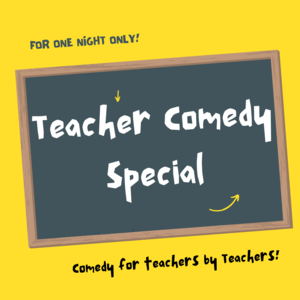 Thumb teacher comedy special